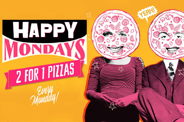 Happy Mondays - 241 Pizza